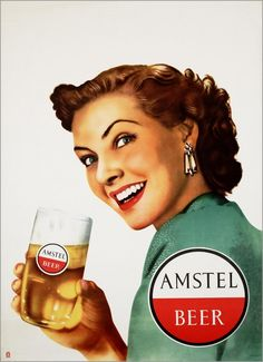Amstel Vintage Beer Ads