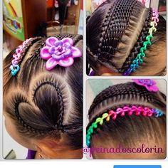 teenage hairstyles for school Shorts Teenage Hairstyles For School, Little Girl Hairstyles, Pretty Hairstyles, Braided Hairstyles, Short Hairstyles, Braids For Kids, Girls Braids, Curly Hair Styles, Natural Hair Styles