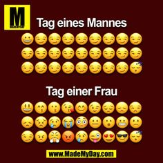 Tag eines Mannes vs tag einer Frau lustig witzig Sprüche Bild Bilder Day of a man vs day of a woman funny funny sayings image images Image Citation, Man Vs, Man Humor, Life Humor, Funny Jokes, Funny Sayings, Funny Shit, Haha, Funny Pictures