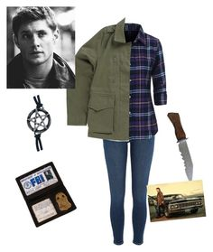 """Dean winchester"" by katiegem123 on Polyvore featuring River Island, Vans and Fad Treasures"