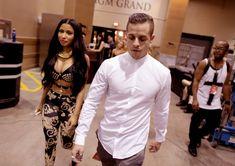Nicki Minaj and Casper Smart
