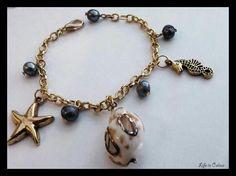 Bracciale estivo! Siete pronti per la bella stagione?? #bracciale #braccialetto #mare #estate #conchiglie