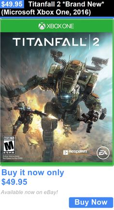 Video Gaming: Titanfall 2 *Brand New* (Microsoft Xbox One, 2016) BUY IT NOW ONLY: $49.95