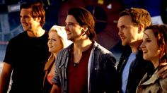 Captain Becker, Abby Maitland, Connor Temple, Matt Anderson and Emily Merchant from #Primeval
