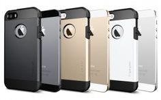 Сapa Iphone 5 e Iphone 5s Spigen Tough Armor e uma Сapa Premium para o Smartphone Iphone 5 e 5s. Alem de beleza,possui uma excelente protecao para seu Celular Iphone e uma gama de cores que  valoriza ainda mais seu Smartphone Apple.