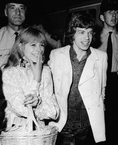 Marianne Faithfull Mick Jagger