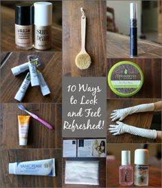 10 Ways to Look and Feel Refreshed - The Rich Life On a Budget