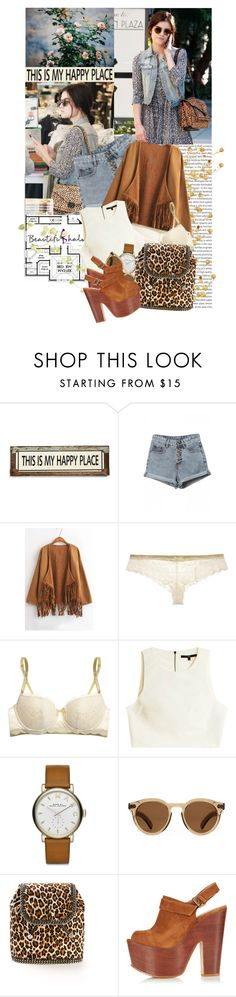 """""""I truly believe these feelings, they're dancing around and around my soul."""" by ithinkinblack ❤ liked on Polyvore featuring Oris, Kitson, Poncho & Goldstein, Elle Macpherson Intimates, TIBI, Marc by Marc Jacobs, Illesteva, STELLA McCARTNEY, Topshop and vintage"""