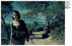 visual optimism; fashion editorials, shows, campaigns & more!: souvenir: antonia wesseloh by jacques olivar for marie claire italia october ...