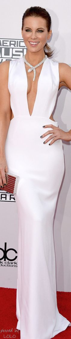 Kate Beckinsale 2014 AMA's Red Carpet | LOLO