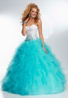 Long+Puffy+Prom+Dresses | Mori Lee 95119 Prom Dress - PromDressShop.com