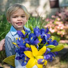 Buzz with flowers