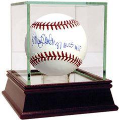 Graig Nettles Signed MLB Baseball w/ '81 ALCS MVP' insc