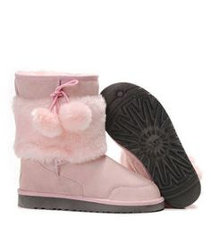 UGG Short Classic 5899 Pink Boots