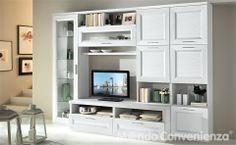struttura e ante colore bianco larice codice 9WHG misure: 300x59x219 €736,00