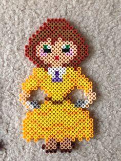 Jane Tarzan perler beads by Amy Johnson Castro