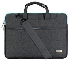 Mosiso Polyester Sleeve Case Cover Laptop Shoulder Bag Briefcase Handbag for 15156 Inch MacBook Pro Notebook with Back Belt for Trolly Case Gray * Check out this great product.