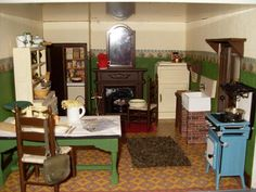 WWII - WW11 english home in a terrace - Gallery - The Greenleaf Miniature Community