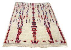 10'X6' ft / Handmade Moroccan rug Beni Ourain 100 Percent Wool / Azilal Rug / Boucherouite Rug / Beni Ouarain / Moroccan Kilim