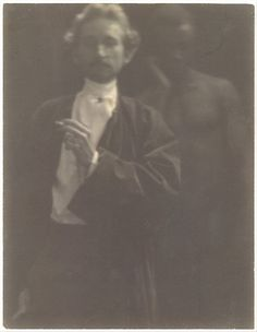 Clarence H. White (American, 1871-1925). Portrait of F. Holland Day with Male Nude, 1902. The Metropolitan Museum of Art, New York. Gilman Collection, Purchase, Harriette and Noel Levine Gift, 2005 (2005.100.288).