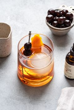 This maple old fashioned is a classic cocktail with a light maple twist. This recipe comes from the historic Fedora in Manhattan.