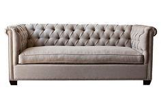 Esquire Chesterfield Sofa on OneKingsLane.com. The sofa of my dreams...well, one of the sofas of my dreams!