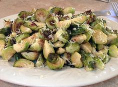 Roasted Brussels Sprouts with Shallots
