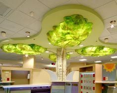 Client: St. Vincent Healthcare Foundation, Design: CTA & Dillon Works!, Venue: St. Vincent's Hospital, Billings, MT  -in a tree