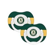Oakland Athletics Pacifier 2-Pack