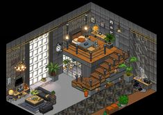 Pixel Art, Minecraft Room, Minecraft Blueprints, Medieval Houses, Cute House, Forest House, All Art, Cute Art, Arquitetura