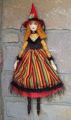 Witch Art Doll - by Lisa Monica Nelson from The Art of ...386 x 650   69.5KB   www.ebsqart.com