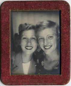 pals | a Photomatic pic of my grandmother (right) and her be… | Flickr