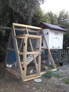 Kid S Playset Turned Into A Chicken Coop Chickens