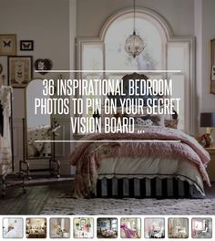 36 #Inspirational Bedroom #Photos to Pin on Your Secret #Vision Board ... #Decorating