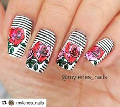 #Repost @mylenes_nails with @repostapp ・・・ I just received this spring 04 plate from @pennyciciandsisi for review. this is my very first acrylic plate. I have to say that I am very impressed! It is so easy to clean and the image picks up great! Her designs are beautiful! I highly recommend them. Thank you @pennyciciandsisi 😙😚 #floralstamping #stampingdesign #nailstamping #nails2inspire