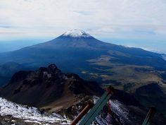 México, Volcán Popocatepetl