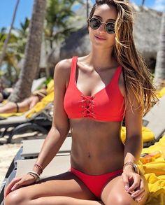 """7063819e0bc81 Maaji ® on Instagram: """"Hello SATURDAY, we LOVE you❤ .....#RealMermaid  @valentinamorat #maaji #maajiswimwear #swimwear #redbikini #saturday"""""""