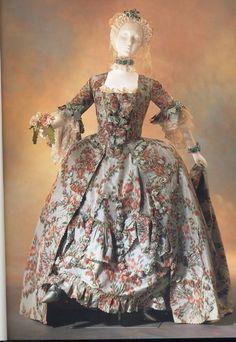 Robe de mariée baroque - Façon madame de Pompadour