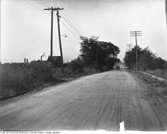 What Weston Road used to look like in Toronto Toronto Ontario Canada, Old Pictures, Past, That Look, Old Things, Country Roads, Urban, History, City