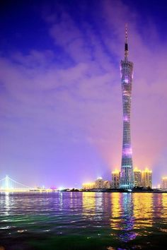 Canton Tower, China , for more visit www.luxuryaddicted.com :)