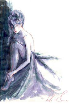 amazing beautiful aquarelle by Tali Sema