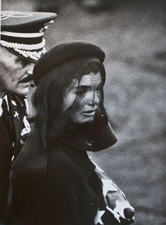 Jackie Kennedy at Arlington