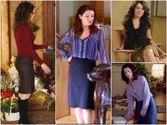 Skirts worn on Gilmore Girls by Lorelei Gilmore Girls Lorelei Gilmore's Style #LoreleiGilmore #style #gilmoregirls  http://www.practicallyfashion.com/lorelai-gilmores-style/