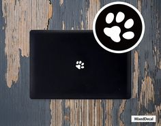 Foot Printed Full cover Sticker skin For Apple Pro/Air (Choose different version) by MixedDecal on Etsy