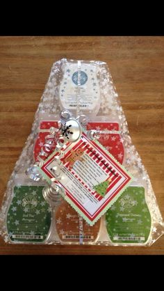 $25 for 6 Scentsy bars wrapped in plastic!  Great gift idea!