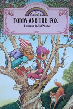 Rainbow's End - Toddy and the Fox - Children's Reading Story Book with Ilustrations