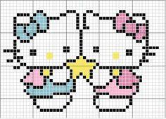 Hello Kitty star pattern