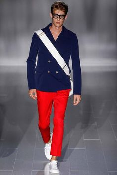 Gucci Spring 2015 Menswear - Collection - Gallery - Look 1 - Style.com