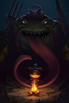 Teemo and Kench