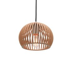 Cuzco 22cm Small Pendant Light Plywood Dome Mercator MG4331S, $139.00